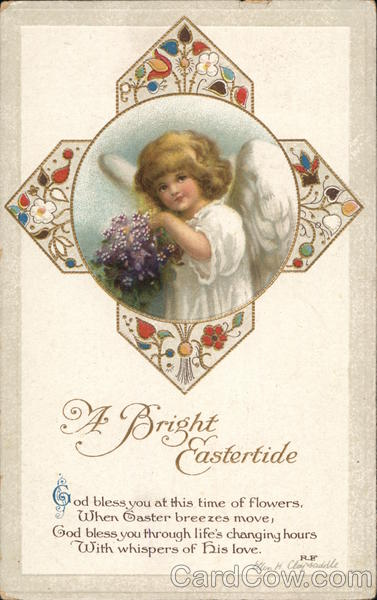 A Bright Eastertide With Angels