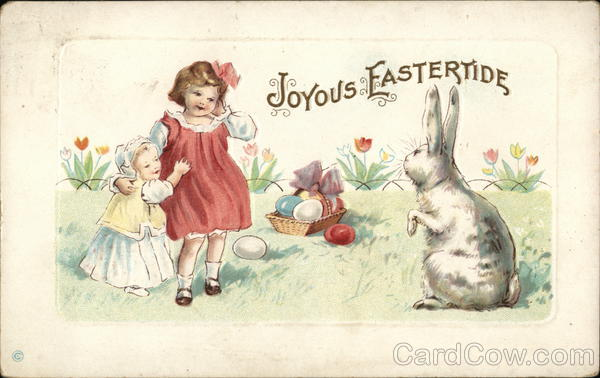 Joyous Eastertide With Children