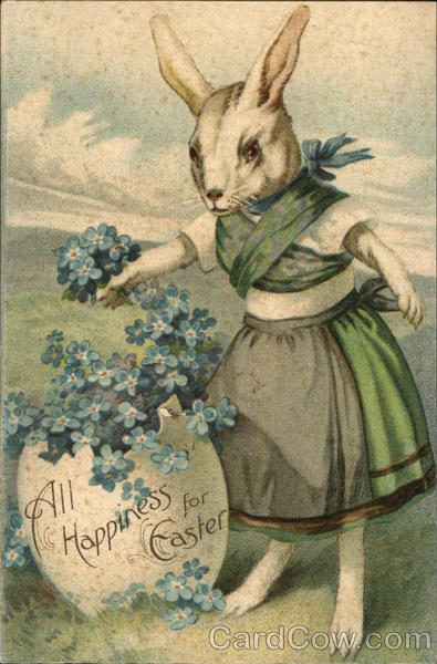All Happiness for Easter With Bunnies