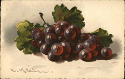 Grapes in Still Life
