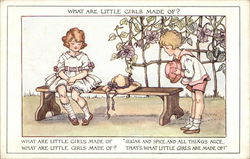 What Are Little Girls Made Of?