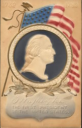 Washington in Seal with Flag