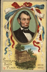 Abraham Lincoln's Birth Place Postcard