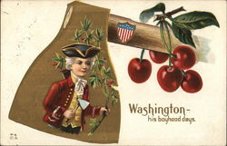 Washington--his boyhood days