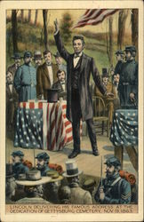 Lincoln's Famous Gettysburg Address