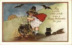 May a nice little witch brew a Happy Halloween for you