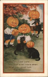 Black Cats and Pumpkins