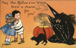 May the Hallow e'en Witch brew a charm for you!