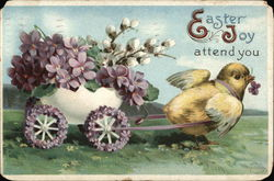 Easter Joy attend you