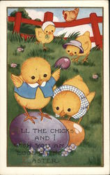 All the Chicks and I wish you an Eggsciting Easter