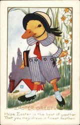 Duckling in Schoolboy Clothing