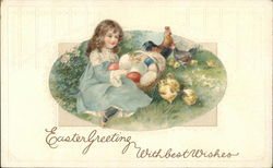Easter Greeting With Best Wishes