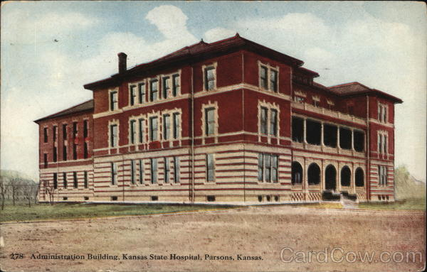 Administration Building, Kansas State Hospital Parsons