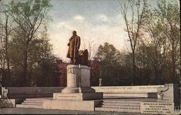 Benjamin Harrison Moument, University Park Indianapolis