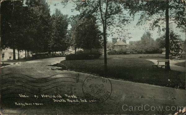 View of Howard Park South Bend Indiana