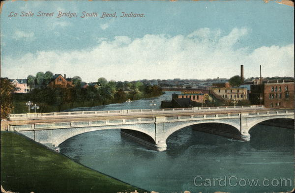 La Salle Street Bridge South Bend Indiana