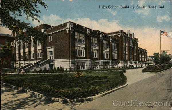High School Building South Bend Indiana