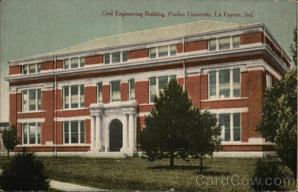 Civil Engineering Building, Purdue University Lafayette Indiana