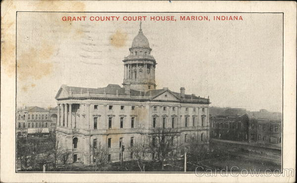 Grant County Court House Marion Indiana