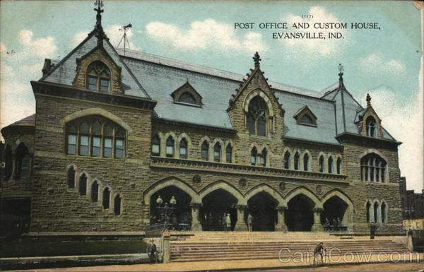 Post Office and Customs House Evansville Indiana