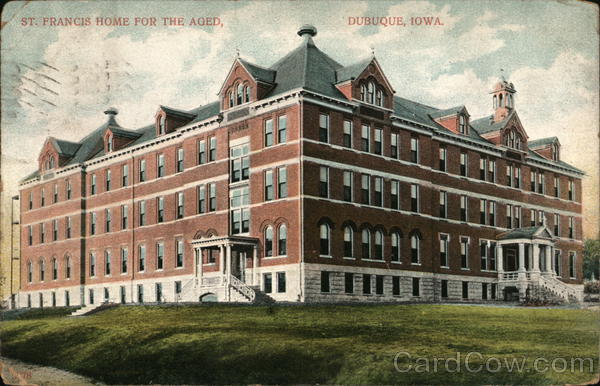 St. Francis Home For The Aged Dubuque Iowa