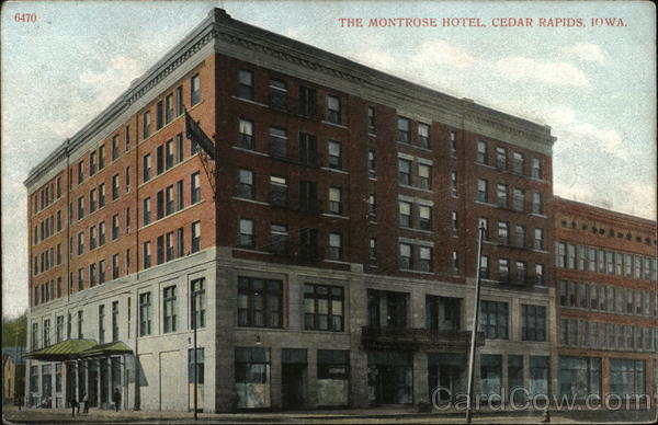 The Montrose Hotel Cedar Rapids Iowa