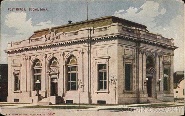 Post Office Boone Iowa