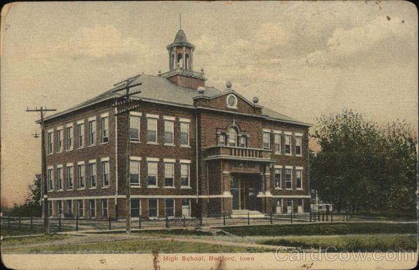 High School Bedford Iowa