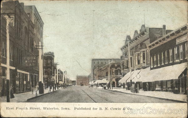 East Fourth Street Waterloo Iowa