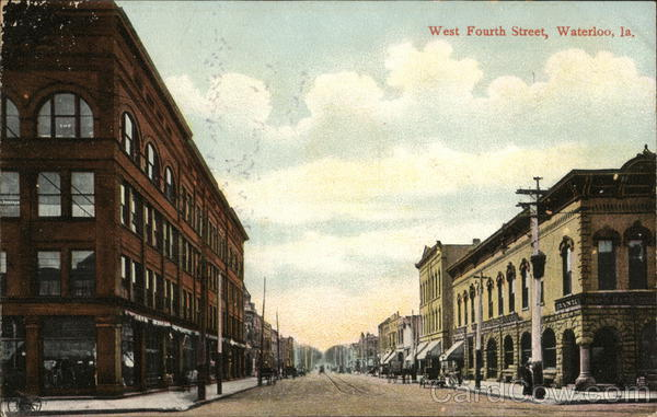 West Fourth Street Waterloo Iowa