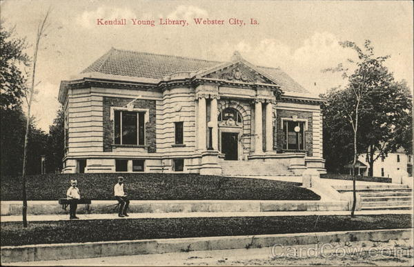 Kendall Young Library Webster City Iowa