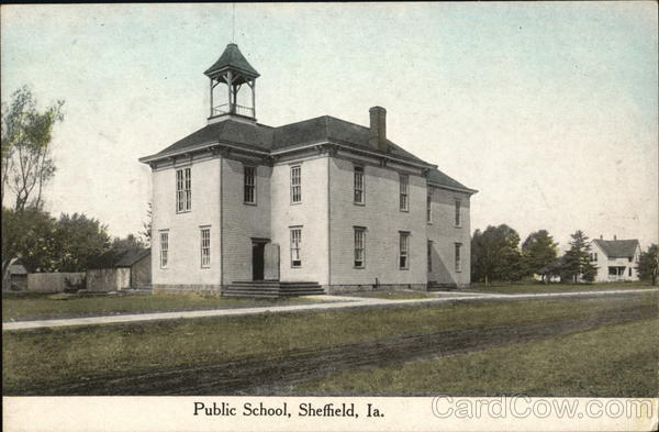 Public School Sheffield Iowa