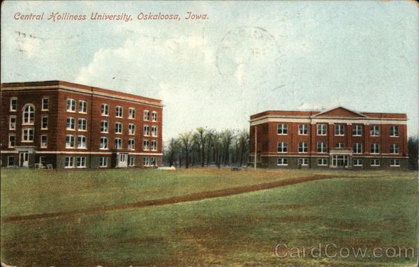 Central Holliness University Oskaloosa Iowa