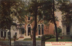 James Whitcomb Riley's Residence