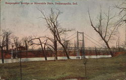 Suspension Bridge at Riverside Park