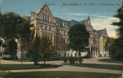 Main Building of St. Mary's Postcard