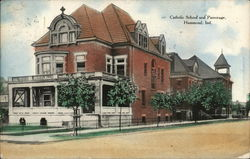 Catholic School and Parsonage