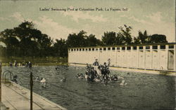 Ladies' Swimming Pool at Columbian Park