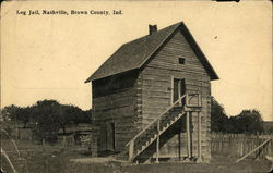 Log Jail, Nashville, Brown County