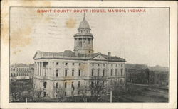 Grant County Court House Postcard