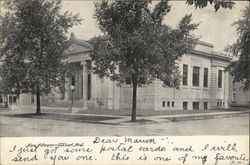 New Library Postcard