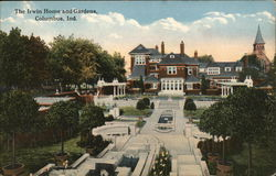 The Irwin Home and Gardens Postcard