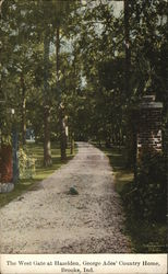 West Gate at Hazleden, George Ades' Country Home