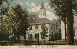 Indiana's First State House, 1811