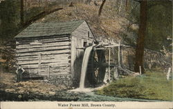 Water Power Mill, Brown County
