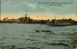 Bay View showing Pavilion and Bath House