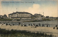 The Beach Showing Young's Hotel