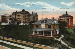 Milwaukee Hospital, Rectory and Layton Home
