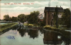 Old Mill and Race, Near Milwaukee, Wis.