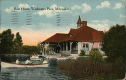 Boat House, Washington Park